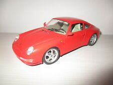 PORSCHE CARRERA 911 1993 ROSSA BURAGO SCALA 1:18 NO BOX
