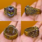 Antique Islamic Mosiac Ring   Post Medieval Ottoman Empire Style Middle East