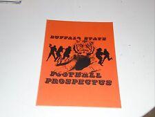 1989 BUFFALO STATE (NY) COLLEGE FOOTBALL MEDIA GUIDE  EX-MINT BOX 32