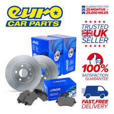 Pagid Rear Brake Kit (2x Disc 1x Pad Set) - AUDI A1 S Line 1.4 Petrol 02.13-
