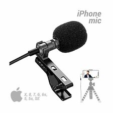 YouMic Lavalier Microphone for iPhone - Great Lav Mic for iPhone 7, 8, X - iP...