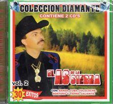 El As De La Sierra Coleccion Diamante Vol 2 30 Exitos  2CD New Sealed