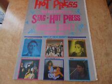 HOT PRESS 5/10/84. SPANDAU BALLET,U2,LES ENFANTS,MOVING HEARTS.