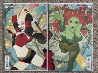 HARLEY QUINN & POISON IVY #5 MIDDLETON CONNECTING COVERS VARIANT SET NM DC 2020