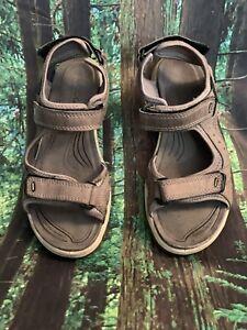 ECCO Yucatan Womens Sandal Brown Size 38