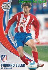 043 FABIANO ELLER BRAZIL ATLETICO TARJETA CARD MEGA CRACKS LIGA 2008 PANINI