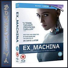 EX MACHINA - Domhnall Gleeson   **BRAND NEW BLU-RAY**