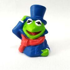 Vintage Jim Henson Dakin Muppets Christmas Carol Finger Puppet Kermit the Frog