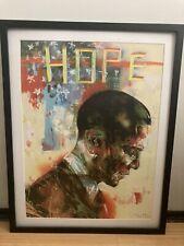David Choe Obama Hope Print Signed Numbered 2008