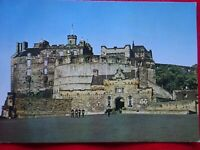 EDINBURGH CASTLE-THE EAST FRONT-VINTAGE POSTCARD