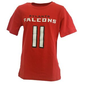 Atlanta Falcons Julio Jones NFL Team Kids Youth Size T-Shirt New With Tags