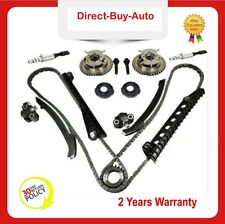 Timing Chain Kit Cam Phasers VVT Valves Fit Ford F-150 F-250 w/ Seal & Screw