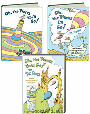 Oh the Places You'll Go & Oh the Places I'll Go (hc) 2 Bk Box Set Dr. Seuss NEW
