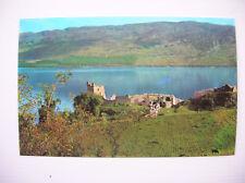 Urquhart Castle, Loch Ness. Near Drumnadrochit, Foyers, Fort Augustus etc. 1960s
