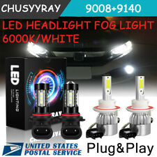 For Chrysler Aspen 2007 2008 2009-Kit de bombillas LED para faros antiniebla 6k