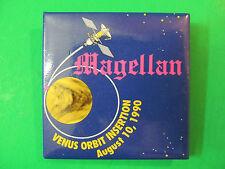 "Magellan Venus Orbit Insertion Aug 10th 1990 Pin 2"" X 2"""