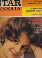 Star Weekly Cary Grant Casey Stengel Heather Thompson September 19 1964