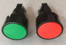 22MM Red (NC)Green (NO) MOMENTARY START/STOP Push button Switches 3A Max