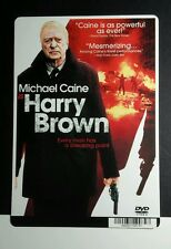 HARRY BROWN MICHAEL CAINE COVER ART MINI POSTER BACKER CARD (NOT a movie )