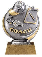 Resin Coach Appreciation Trophy Award Free Lettering