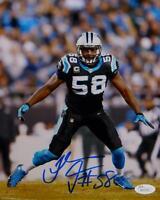 Thomas Davis Autographed Carolina Panthers 8x10 Vertical Photo- JSA W Auth