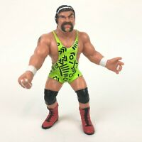 WWF WCW Galoob RICK STEINER Rare UK Exclusive Wrestling Action Figure 1990