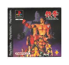 Tekken - Sony Playstation 1 - PSX PS1 - nur CD + Anleitung