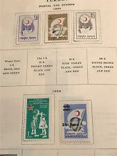Turkey Postal Tax   Collection  Removed From Book  Unused LOT D03178