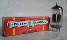 Heintz and marchand Jan 5751 ecc83 12ax7 e83cc tube tube nos telefunken usa GE
