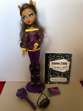Monster High Clawdeen Wolf doll School's Out
