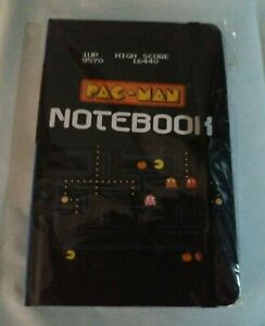 Pac Man Note Book Novelty Gift Brand New