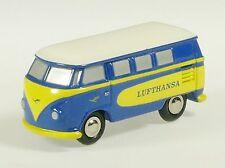"""Schuco Piccolo VW T1 Bus """"Lufthansa"""" # 50131300"""