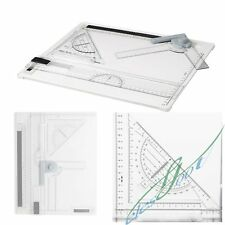 New Professional Architect Artist A4 Drafting Drawing Board Ruler Table Set【US】