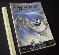 The Aeroplane Aviation Magazine British Aircraft Industry Number Vintage 1937