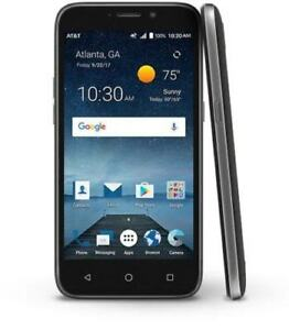 ZTE Maven 3 Z835 AT&T locked 4G LTE 8GB Android Smartphone Black