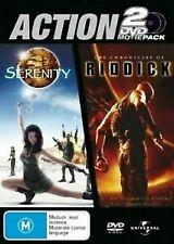 Serenity / The Chronicles Of Riddick 2 Dvd Pack