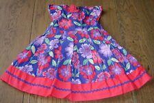 PUMPKIN PATCH GIRLS SUMMER FLORAL DRESS SZ 1 (12-18 MTHS)