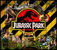 Jurassic Park Pinball Alternate Translite Data East