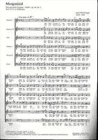 Josef Rheinberger - Morgenlied ~ Chor-Partitur