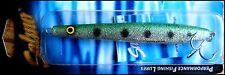 Sea bass lure SALMO SLIM 13 cm, 29 g, SSG (Sparkling Silver Green) color