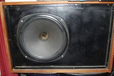 "2x Tannoy 15"" 3836 Drivers & Crossover in Lancaster Cabinets with Covers."
