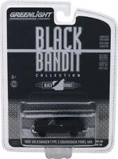 Greenlight Black Bandit 1965 Volkswagen Type 3 Panel Van