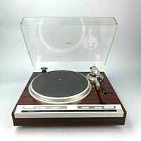 Vintage Pioneer PL-707 Direct Drive Turntable Tested but Needs Service Read*
