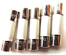 Fuse 6.3a  20mm HBC Antisurge/ Time delay T6.3A  H  250v Ceramic x5pcs