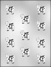 "COW CHOCOLATE CANDY MOLD 1 1/2""  Farm Animal Soap Craft"