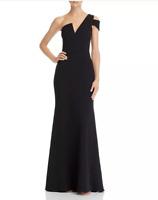 Aqua One-Shoulder Ruffled Gown MSRP $278 Size 12 # 10B 1325 NEW