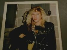 "8"" x 11"" Poster of Duff Mckagen of Guns N Roses Gnr"