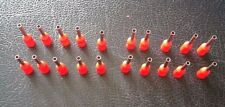 20 Pack - Red Wire Ferrule Crimp Plug Connectors (13 x 1mm) - 18 AWG Cable 1mm2