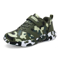 Kids Boys Sneakers Lightweight Tennis Camouflage Casual Athletic Running Shoes40