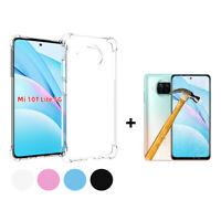 Funda gel TPU silicona anti golpe Xiaomi Mi 10T Lite + Cristal Templado